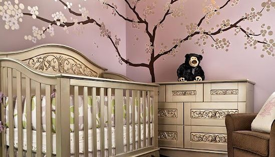 Cherry Blossom baby room