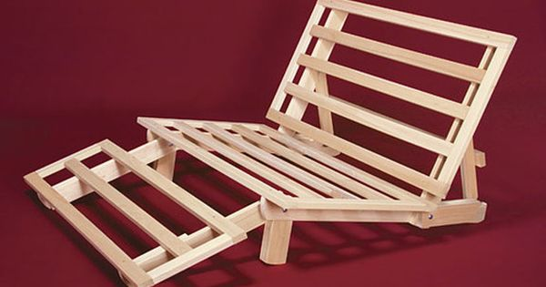 Details About Futon Frame Solid Wood New Tri Fold Futon