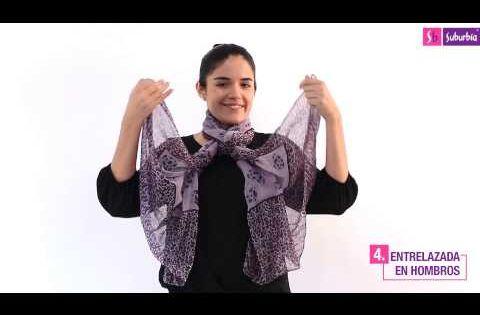 7 Nuevas Formas De Usar Tu Pashmina Vestir Bien Pashminas Gusanos De Seda