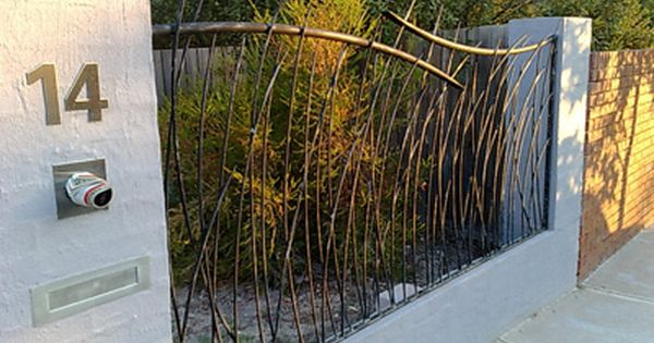 grass-fence-panel | wrought iron | pinterest | metals, love this