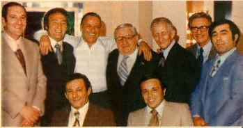 Frankie And The Boys 1976 Left To Right Paul Castellano