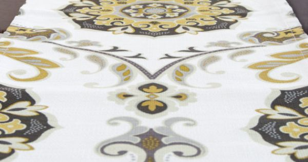 White and gold table runner table runner fall and for 120 inch table runner