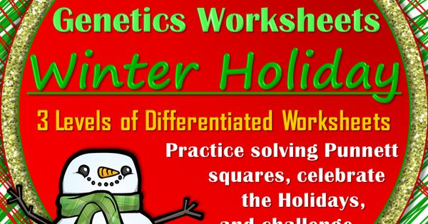 Genetics, Worksheets and Science on Pinterest