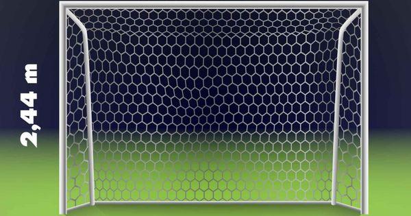 Amazing Wie gro ist ein offizielles Fu balltor Welche Ma e hat es Fussballtore Garten Pinterest Ein and Hats