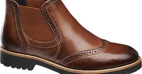 5th Avenue Leather Ankle Boot | Boots, Leather ankle boots