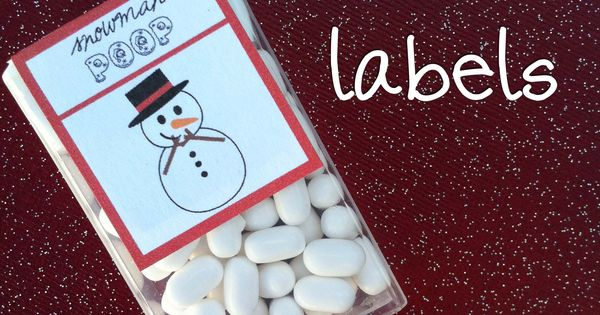 Free Printable Snowman Candy Bar Wrappers | Christmas ...