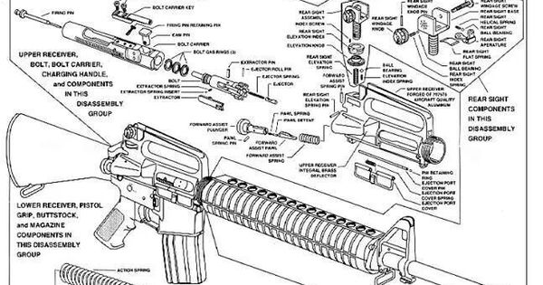 diagram of ar 15 diagram of ar 15 ar 15 diagram hunting fishing and trapping pinterest