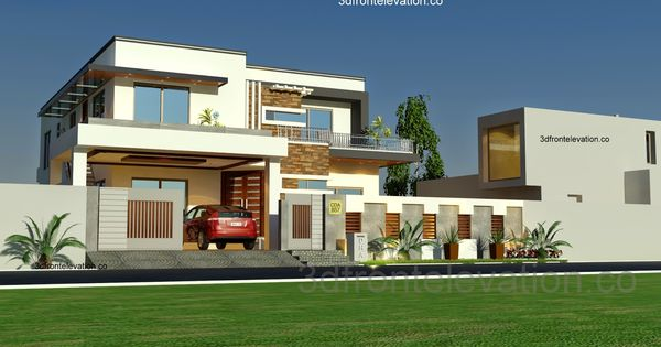 D Front Elevation Kanal : D front elevation kanal house plan layout