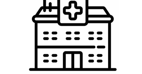 Hospital Icons This Page Contains The Icons Vector Icon As Well As Variations Of This Icon In Different Visual Styles And Rel Hospital Icon Icon Hospital