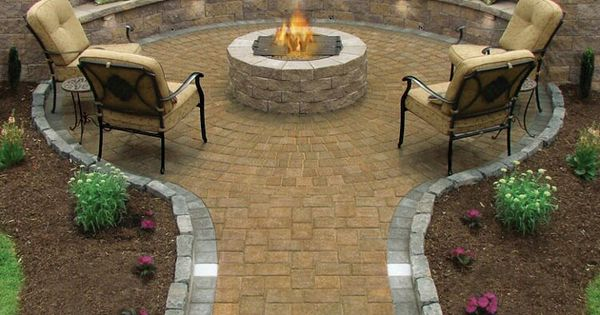Backyard Idea, Back Yards, Backyard Fire Pits, Fire Pit Area, Outdoor Spaces,