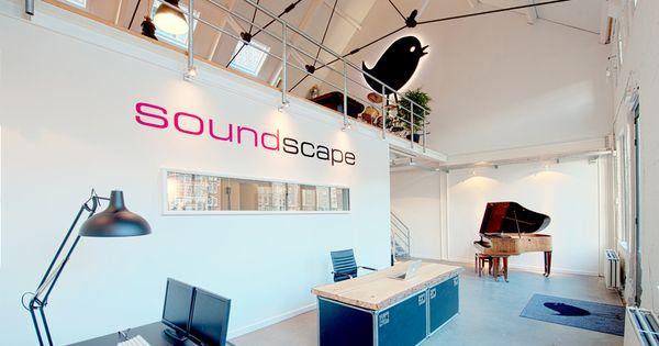 Interieur van soundscapemusic een kantoor waar muziek in zit office tuesday pinterest - Decoreren van een professioneel kantoor ...