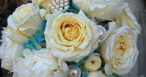 Blue Wedding Flowers - Weddings by Monday Morning Flowers