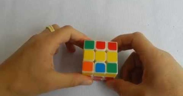 Cubo Rubik 3x3 Truco Y Consejo Para Armar La Cruz Amarilla Mas Fácil Cubo Rubik 3x3 Cubo Rubik Rubik