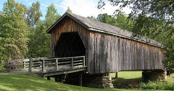Old Covered Bridge Thomaston Georgia
