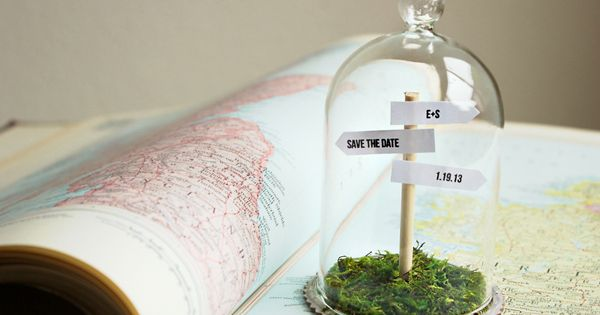 HOW TO MAKE A SIGNPOST SAVE THE DATE — Hank and Hunt