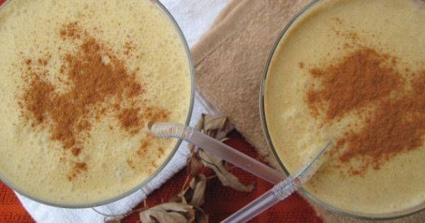 Paleo Pumpkin Pie Smoothie, Perfect for Fall!