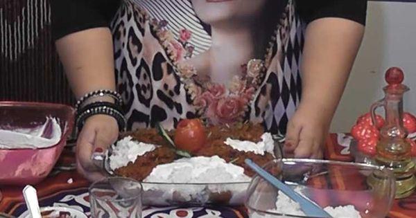 بالفيديو طريقة عمل فتة الدجاج بالزبادى والثوم Arabic Food Recipes Food