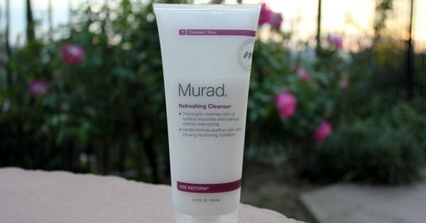Murad Age Reform Refreshing Cleanser Review Cleanser Reviews Anti Aging Skin Care Regimen Cleanser