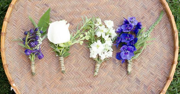simple, beautiful boutonnieres by Design by E Photography by dianaelizabeth.com,