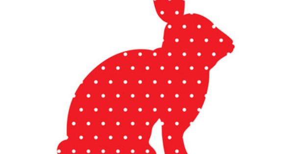 Babykamer Ideeen Rood : Origineel kraamcadeau muursticker konijn rood ...