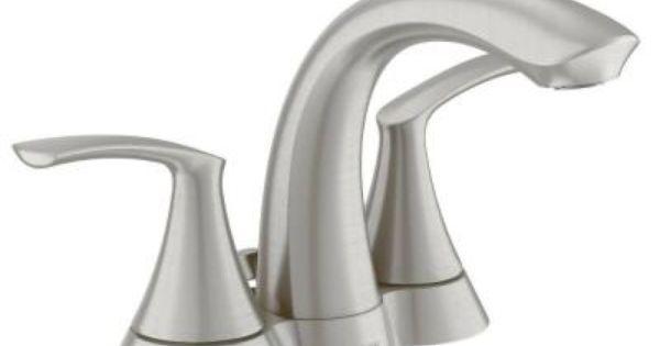 Glacier Bay Fairway 4 In Centerset 2 Handle High Arc: MOEN Darcy 4 In. Centerset 2-Handle Bathroom Faucet In