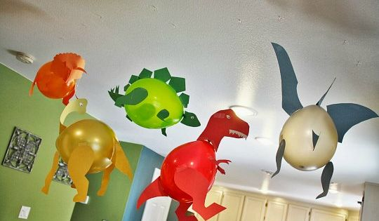 Decorar una fiesta de dinosaurios con globos hoy traemos for Ideas baratas para decorar