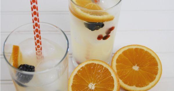 Lemonade, Orange and Orange wedges on Pinterest