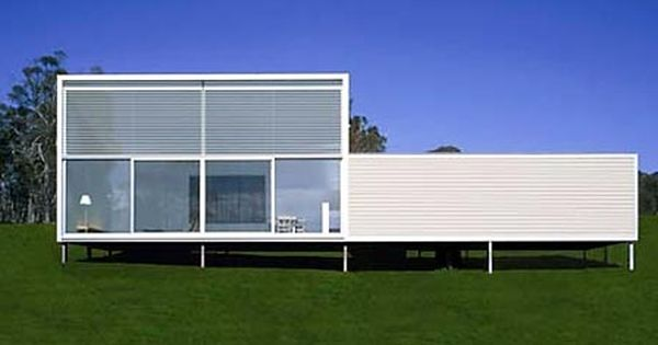 Modern modular prefab home designed by collins turner for Modern prefab homes mn