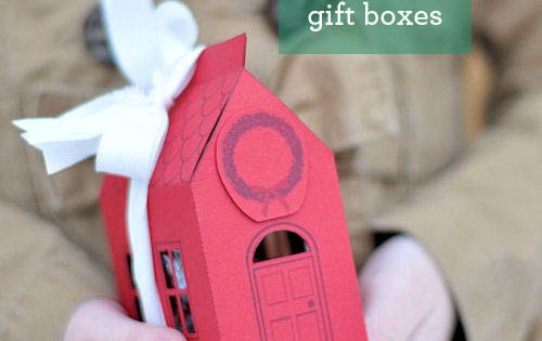 2012 The Perfect Gift: House Gift Box House Gift Box Free Printable