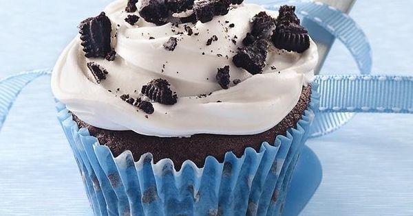 Cookies 'n Cream Cupcakes Recipe cupcake dessert