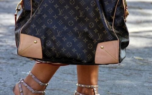 Louis Vuitton and Valentino Rockstud Sandals! Love