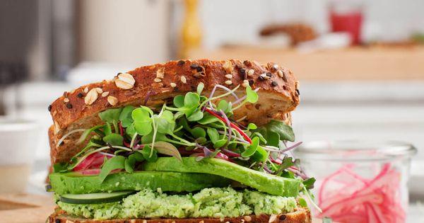Lemon Edamame Avocado Sandwiches | Recipe | Edamame and ...