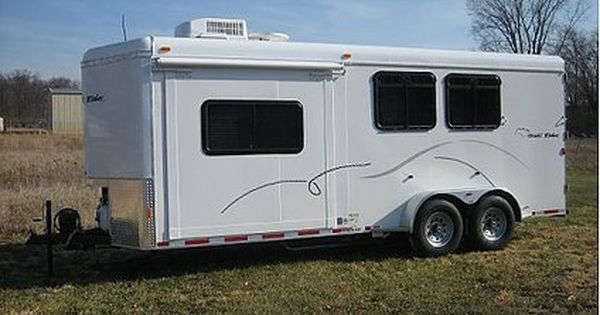2012 Bumper Pull 8 5 Lq 2 Horse Trailer Montana Lewis And Clark Horse Trailer Living Quarters Horse Trailers Horse Trailers For Sale