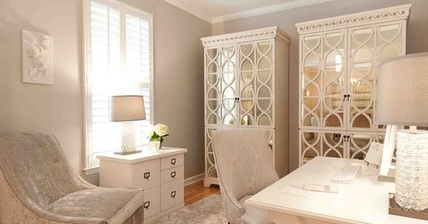 I love all of this. wow. Feminine Office Design, Pictures, Remodel, Decor