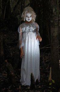 Ghost Halloween Costume Creepy Child Ghost Halloween Costume
