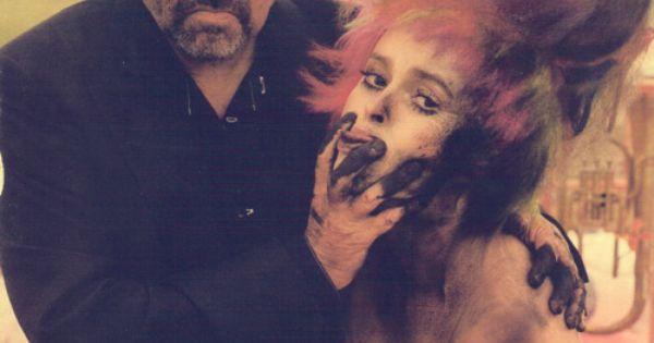 Tim Burton and Helena Bonham Carter.. two of my favorite people :)