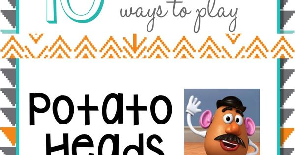 Potato head play for speech and language