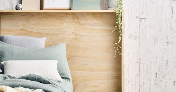 Diy Plywood Bedhead Watch Our Video Tutorial Interior Home