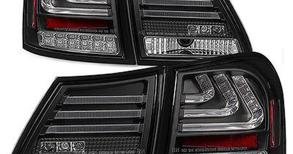 Lh Rh Replacement Black Led Taillamps For 06 11 Lexus Gs300 Gs350 Gs430 Gs450h Led Tail Lights Tail Light Spyder Auto