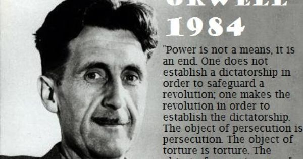 Power I Not A Mean It An End One Doe Establish Dictatorship In Order To Safeguard Revolution Essay Help George Orwell Cognitive Dissonance On Writing