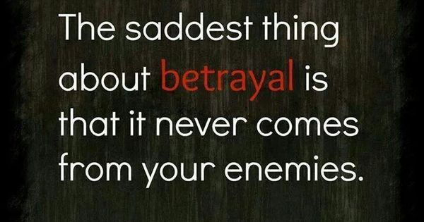 Betrayal Poems: Quotes About Lying And Betrayal