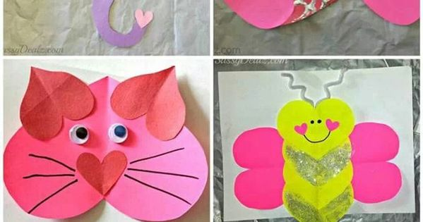 Valentines craft for kids fun for my kiddos pinterest bricolage st val - Pinterest bricolage st valentin ...
