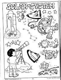 Resultado De Imagen Para Los Planetas Sol Luna Y Estrellas Para Colorear Con Sus Nombres Solar System For Kids Sistema Solar Preschool Science
