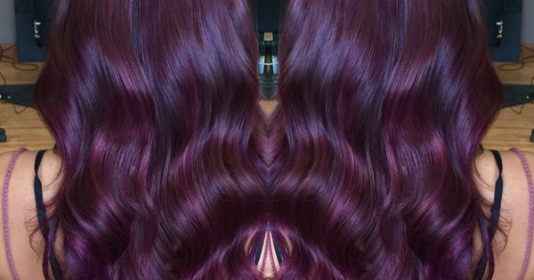 Violet Red Hair Color With Matrix Color Line Socolor  Hair Colors  Pinter