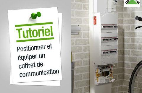 Comment Positionner Et Equiper Un Coffret De Communication Leroy Merlin Tuto Bricolage Coffret