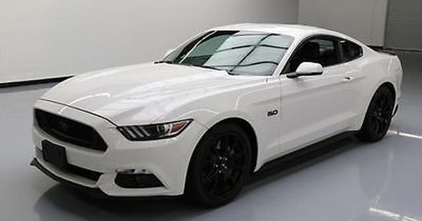 2017 Ford Mustang 5 0 Gt Premium Auto Leather Nav 1k Mi 203173 Texas Direct 2017 Ford Mustang Ford Mustang Sports Cars Mustang