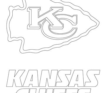 kc chiefs coloring pages - photo#14