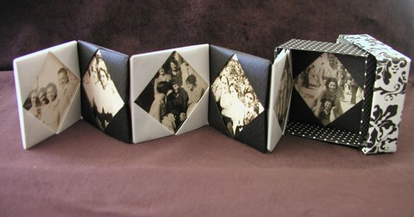 Origami gift box and photo card mini workshop fold for Useful gifts to make