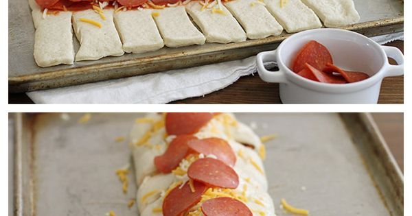 Pepperoni Pizza Braid is another fun way to do Friday Night Pizza
