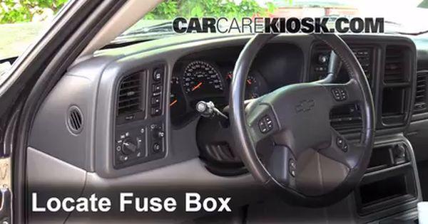 Interior Fuse Box Location 2000 2006 Chevrolet Suburban 1500 2000 Chevrolet Suburban 1500 Ls 5 3l V8 Chevrolet Suburban Fuse Box Chevrolet
